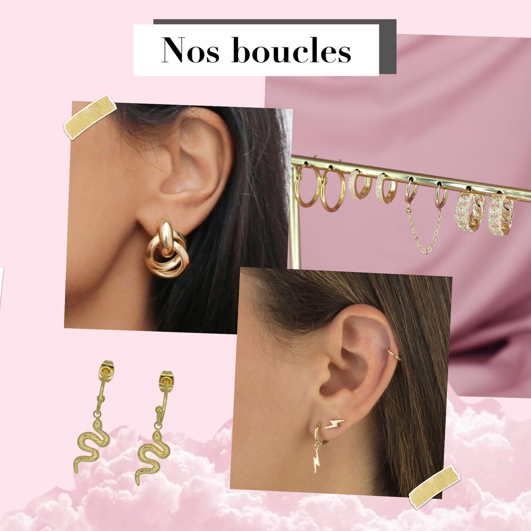 boucles d'oreilles Hazanellie Paris