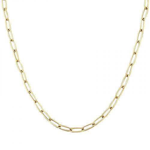 collier chaine doré Hazanellie