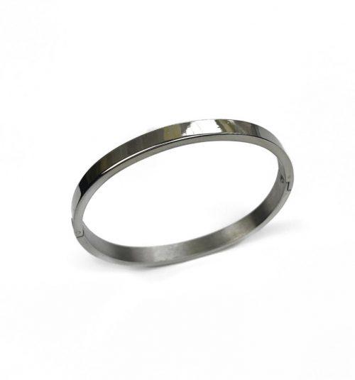 Bracelet jonc argenté Hazanellie