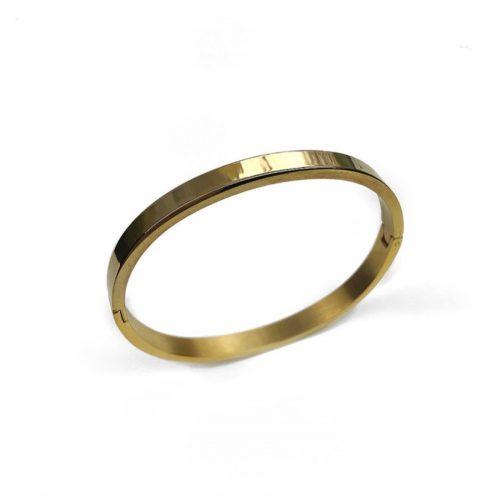 Bracelet jonc doré Hazanellie