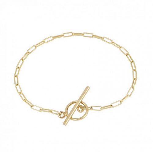 Bracelet chainette doré Hazanellie