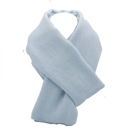 écharpe bleu ciel