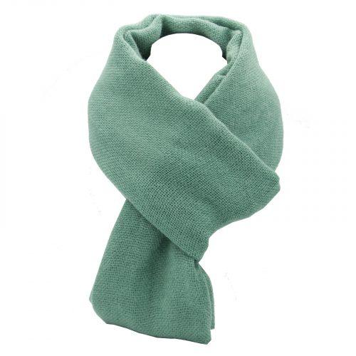 écharpe vert en laine