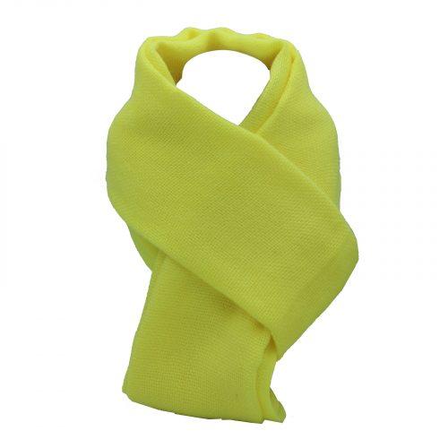 écharpe vert anis en laine